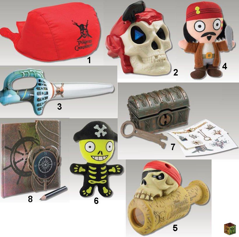 Пиратская бандана для детей