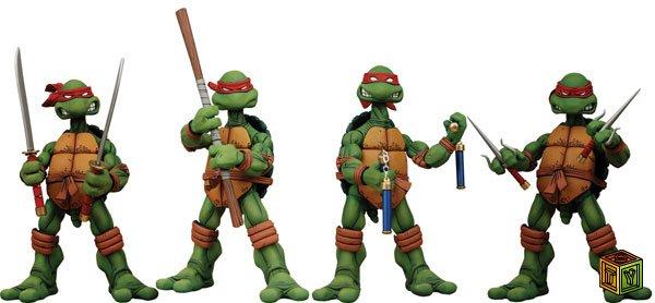 Ninja turtles teenage mutant ninja turtles action figures boxed set