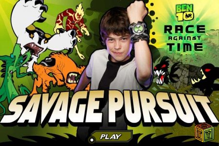 Ben 10 Race against Time Savage Pur