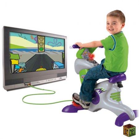 Велосипед игровая консоль