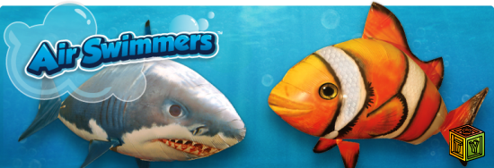 Air swimming fish toyfaq for Air swimming fish