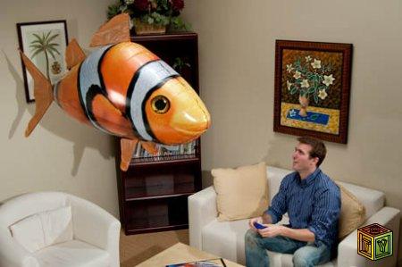 Air Swimming Fish – воздушная рыба