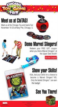 Всё об игрушках Slingers