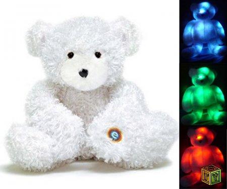 Мягкая игрушка медвежонок ночник