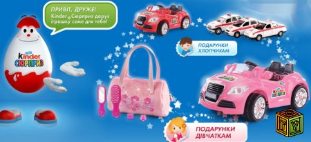 Акция от Kinder-Surprise Mouse Doct