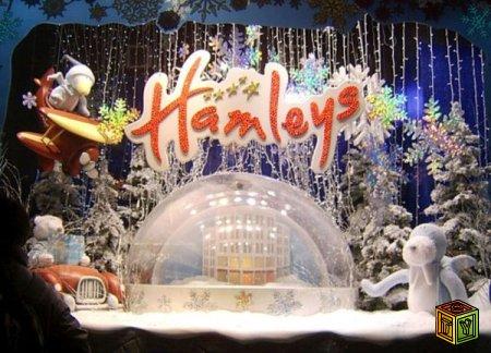 Теперь магазин игрушек Hamleys и в России