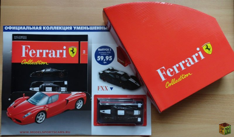 Журнал ferrari collection