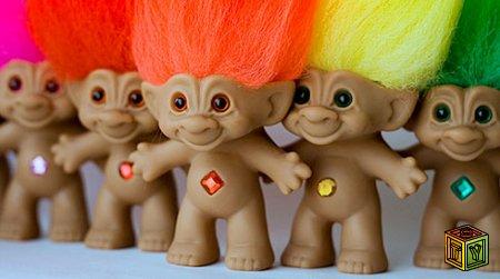 Куклы Тролли популярные в 90-х