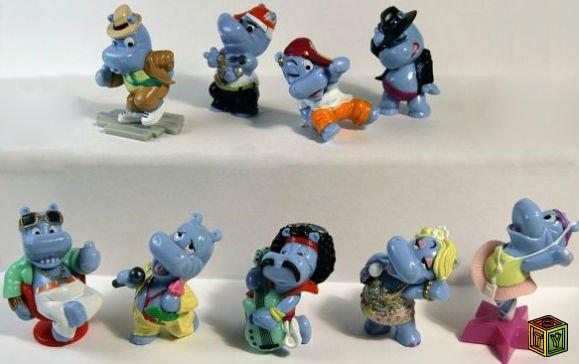 Серии игрушек киндер сюрприз