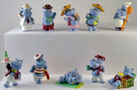 Happy Hippo популярная серия из 90-х