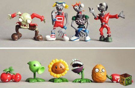 Игрушки Plants vs. Zombies