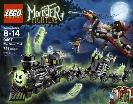 Сравнение наборов LEGO  Monster Fighters (9467) и Time Cruisers (6497)