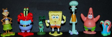 Губка Боб в Kinder Surprise