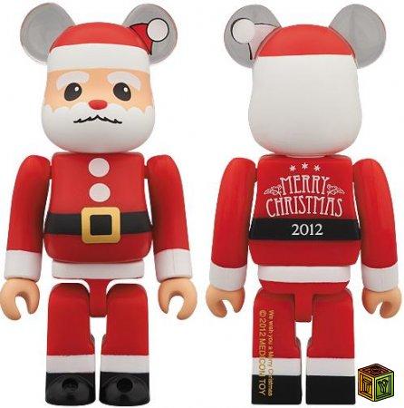 Медведи BE@RBRICK на новогоднею тематику