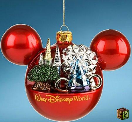Ёлочные новогодние украшения Disney