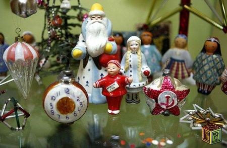 История ёлочных игрушек