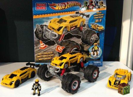 Mega Bloks и Hot Wheels