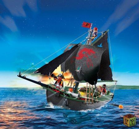Управляемый пиратский корабль от Playmobi