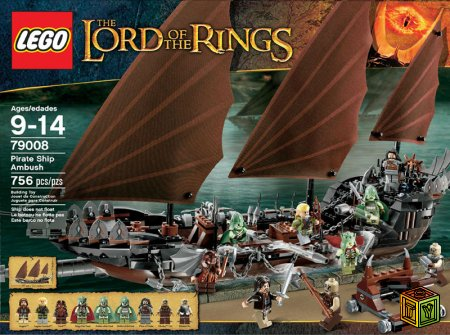 Новые наборы Lego The Lord Of The Rings