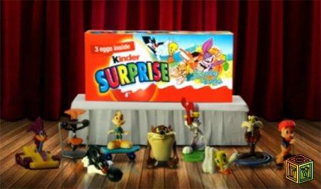 The Looney Tunes Show Kinder Joy
