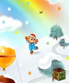 Барни в поисках снежинки