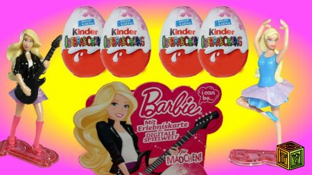 Barbie I can be… в Kinder Surprise