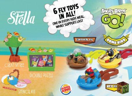 Angry Birds в Burger King