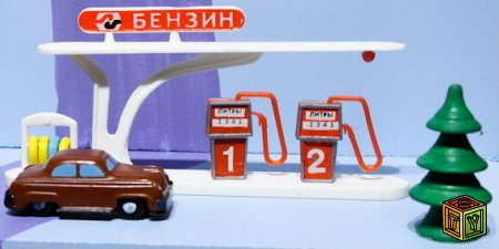 Выставка советских игрушек