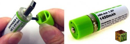 USB батарейки